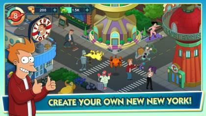 Хорошо проработанная версия игры Futurama: Worlds of Tomorrow с установленными модами