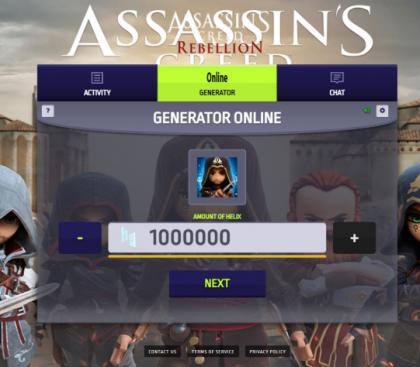 Взлом игры Assassin's Creed Rebellion