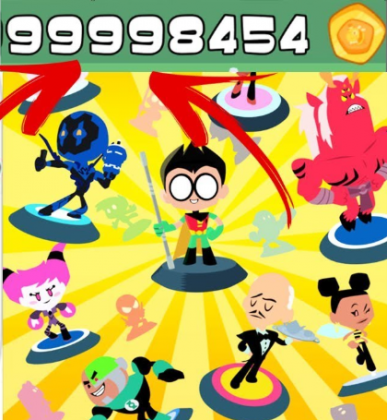 Teen Titans Go Figure взлом игры