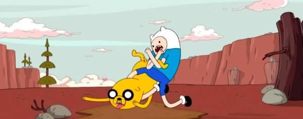 Драка Adventure Time